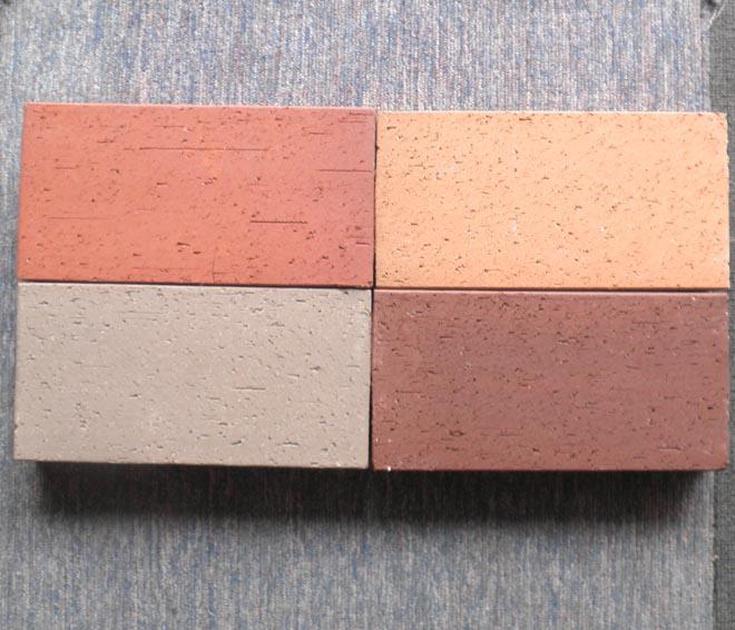 广场砖四色