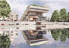 荷蘭阿納姆ArtA商業文化中心建筑方案設計