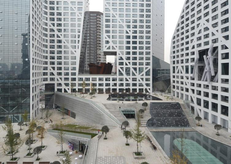 成都来福士广场建筑设计