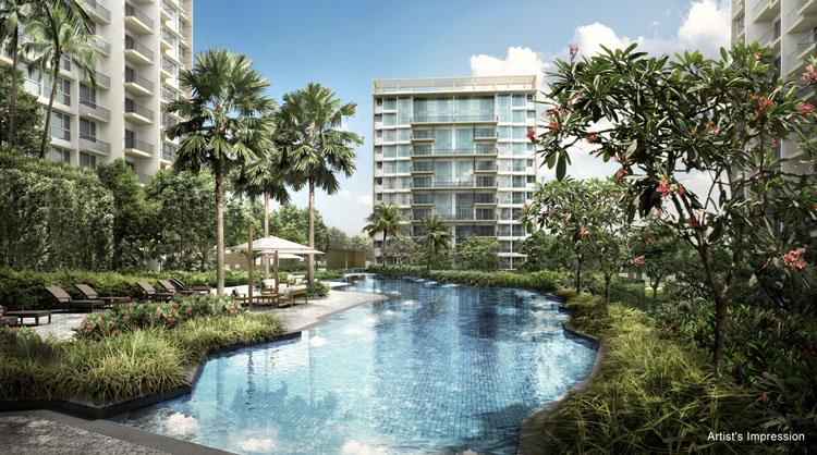 新加坡The Glades生态住宅景观方案设计