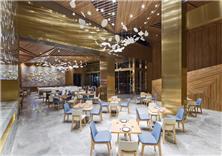 成都格蘭云天精品酒店-閱餐廳空間設計