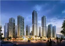 深圳地铁松岗车辆段上盖物业建筑方案设计