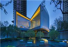 上海万科翡翠滨江售楼处建筑施工图设计