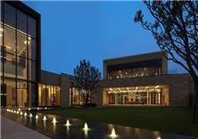 深圳華潤銀湖藍山銷售中心室內設計