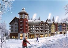吉林萬科松花湖度假區建筑方案設計