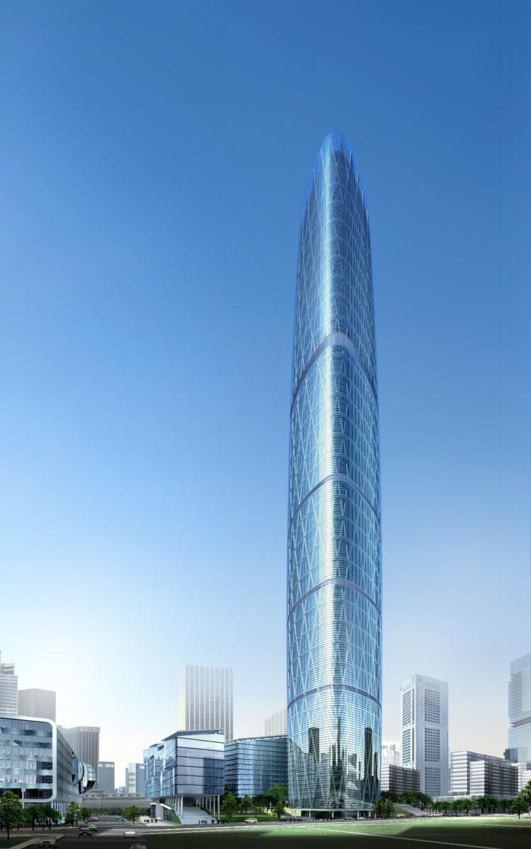 广州国际金融中心建筑结构设计