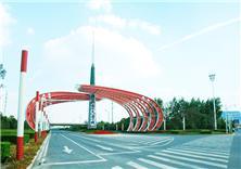 南京江宁百米大道局部景观