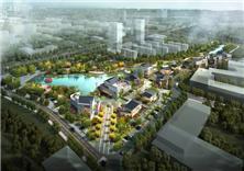 南京江宁高新园资源共享带滨水空间景观