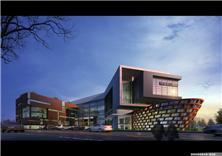 建筑设计-广西来宾十大文化广场项目