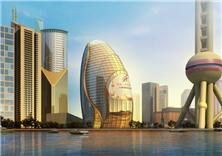 建筑设计-上海金融之眼项目