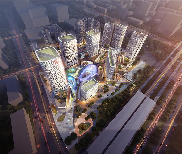 北京万科综合体