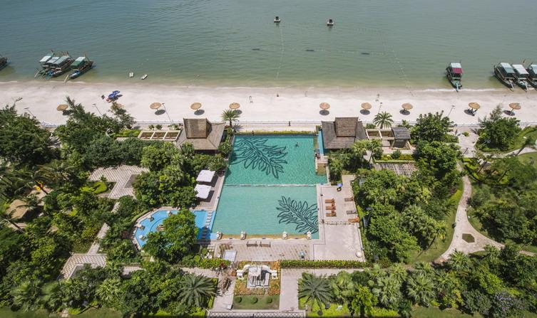 惠州巽寮湾海尚湾畔度假酒店景观设计