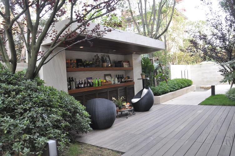 庭院围墙立面 ps素材