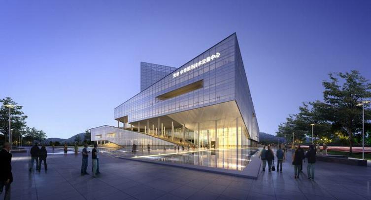 武汉光谷医药技术交易中心建筑方案设计