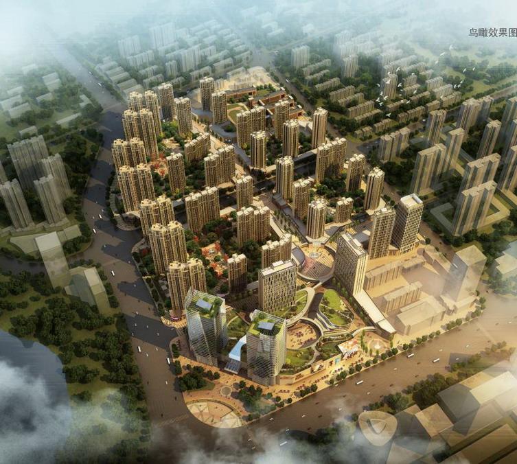 安徽蚌埠鹏欣水游城建筑方案设计