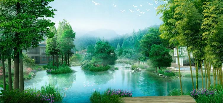 广州大一山庄景观设计施工一体化