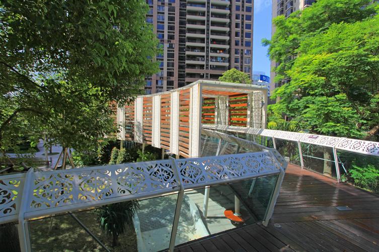 新光御景山花园景观设计施工一体化 项目地点:珠海吉大 项目单价:30.
