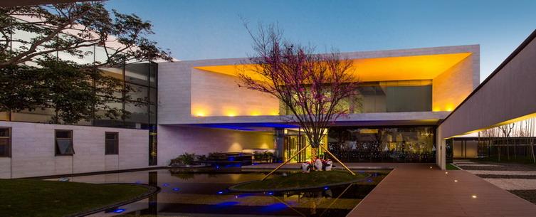 昆明万科公园里售楼处建筑设计