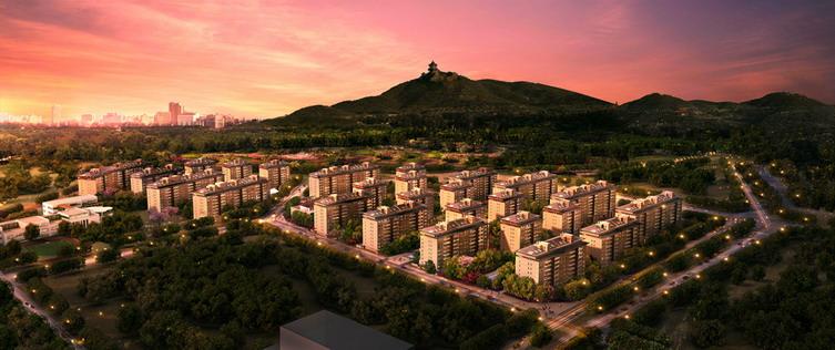 北京五矿万科如园建筑设计-金盘网图片