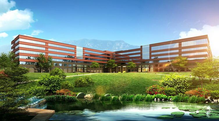 青岛海信研发中心建筑设计