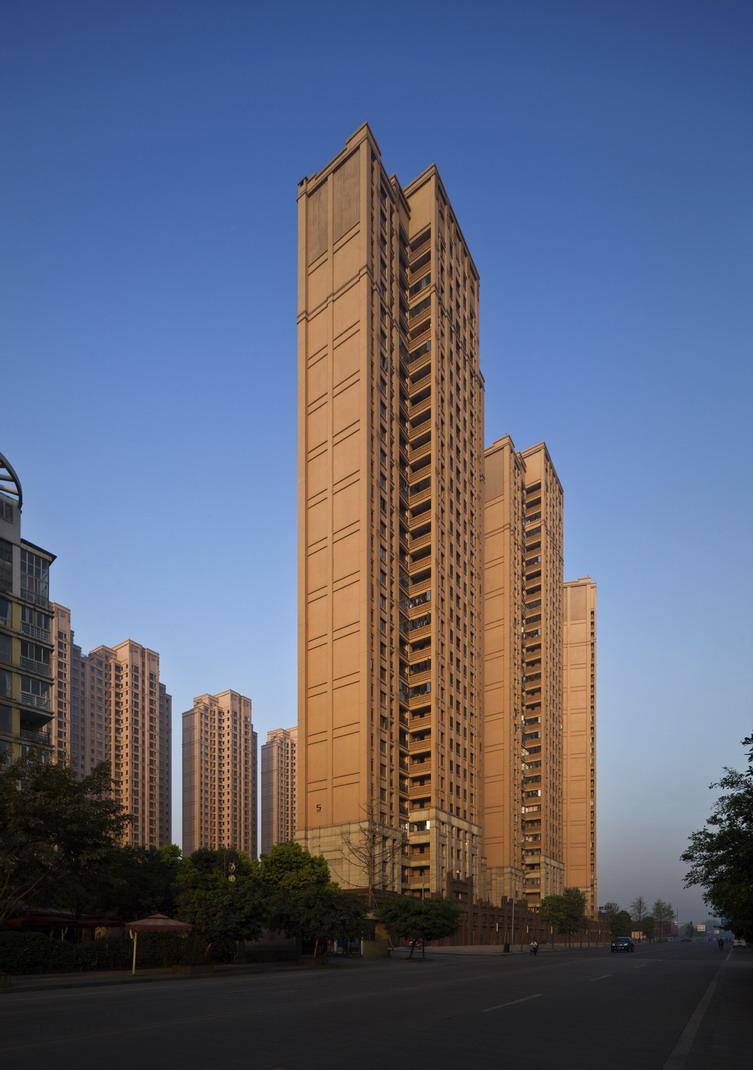 成都中海上海府建筑设计金沙设计概论图片