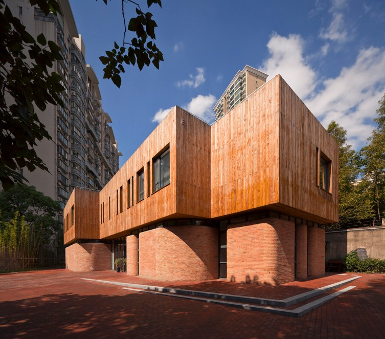 上海新华路639弄办公小筑建筑设计-地产开发专业平台