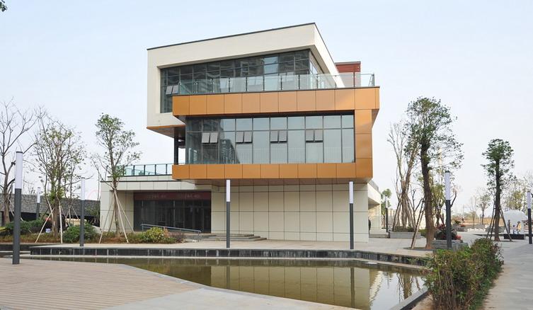 武汉纯年历东湖建筑设计绘制水岸台式图片