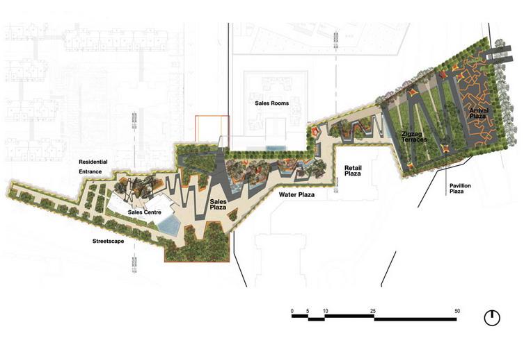 cad公园设计图平面图