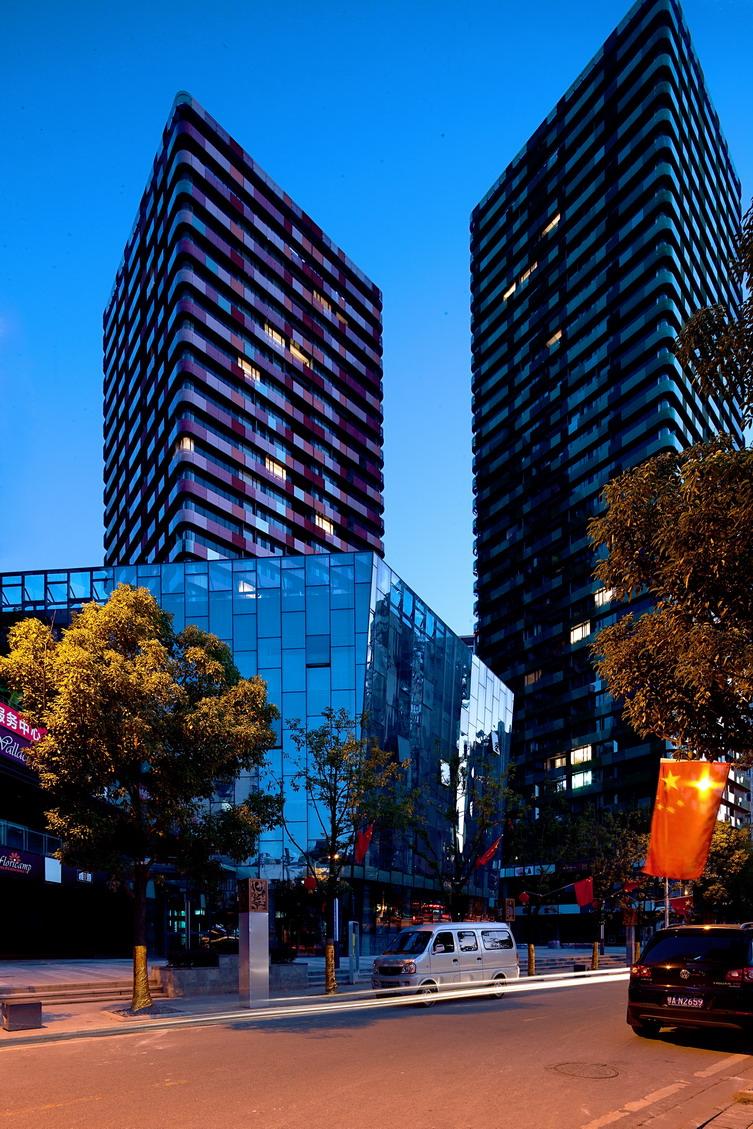 武汉融科天城建筑设计