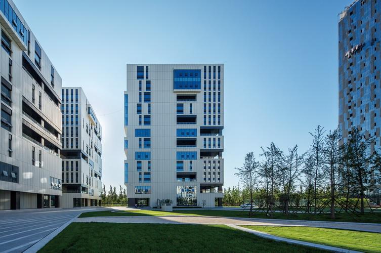 天津武清v基地基地总部建筑设计特产专卖店装修设计图片