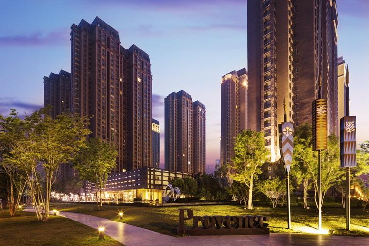 郑州波特兰住宅区景观设计案例_郑州波特兰住宅区景观