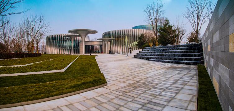 北京绿地朗山国际健康产业园景观设计