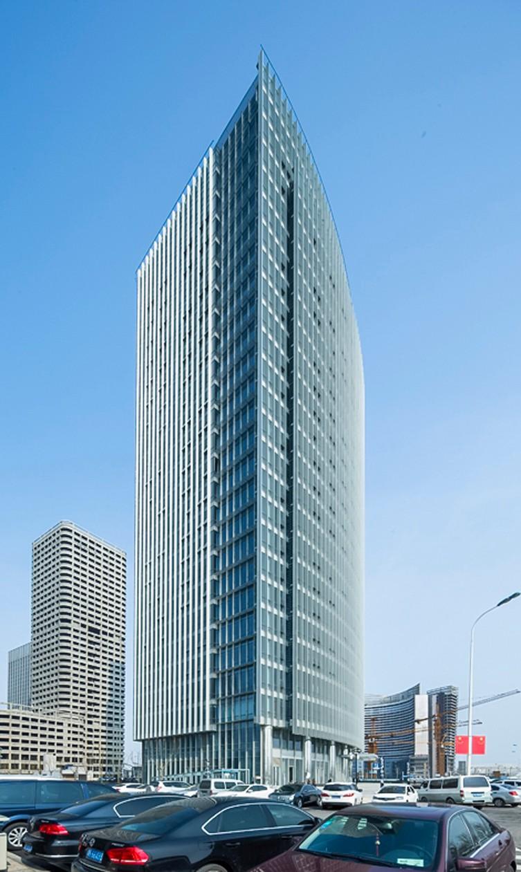 天津金融大厦建筑设计