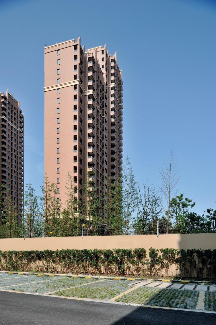 8号廉租房为高层塔式住宅