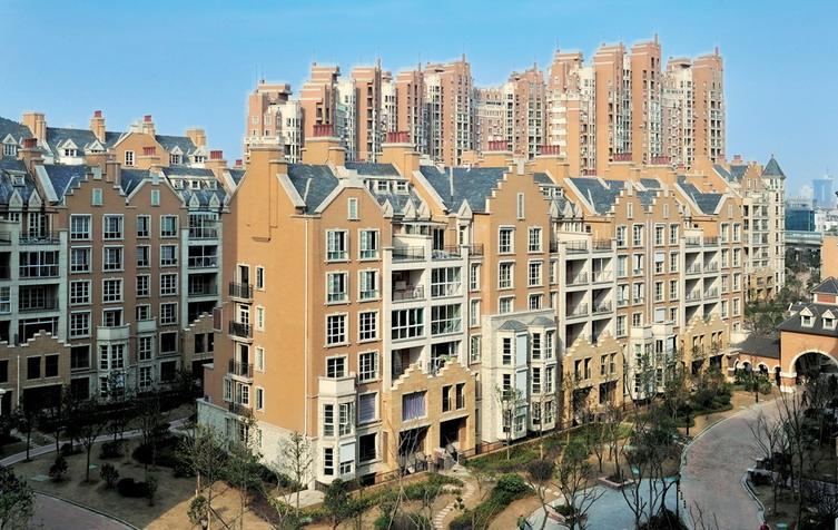 现代简欧式建筑立面设计