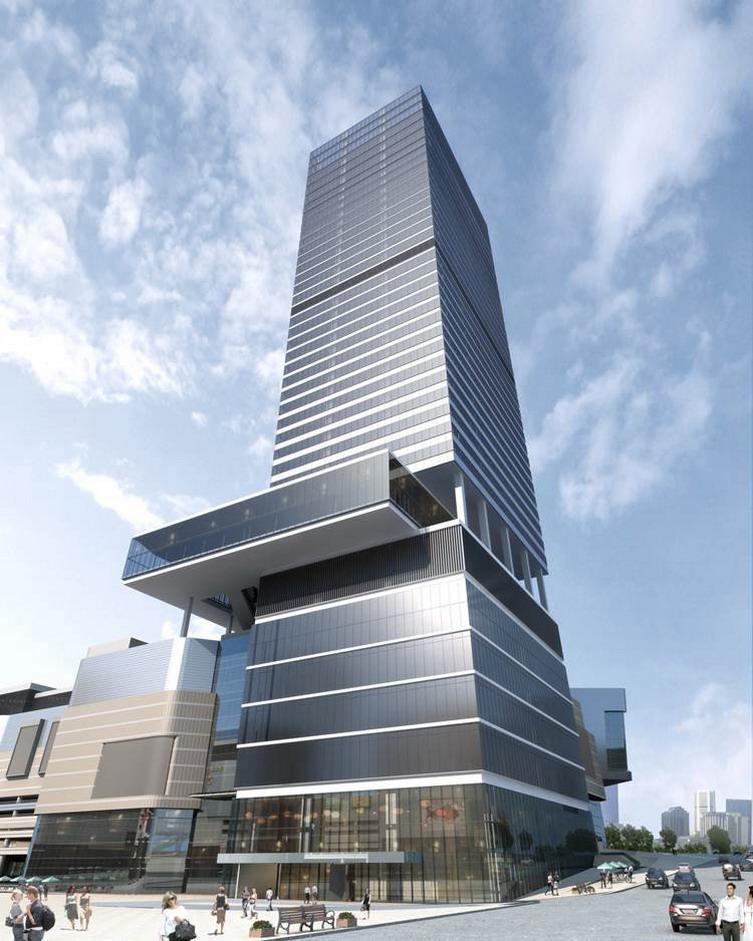 重庆华润万象城建筑设计