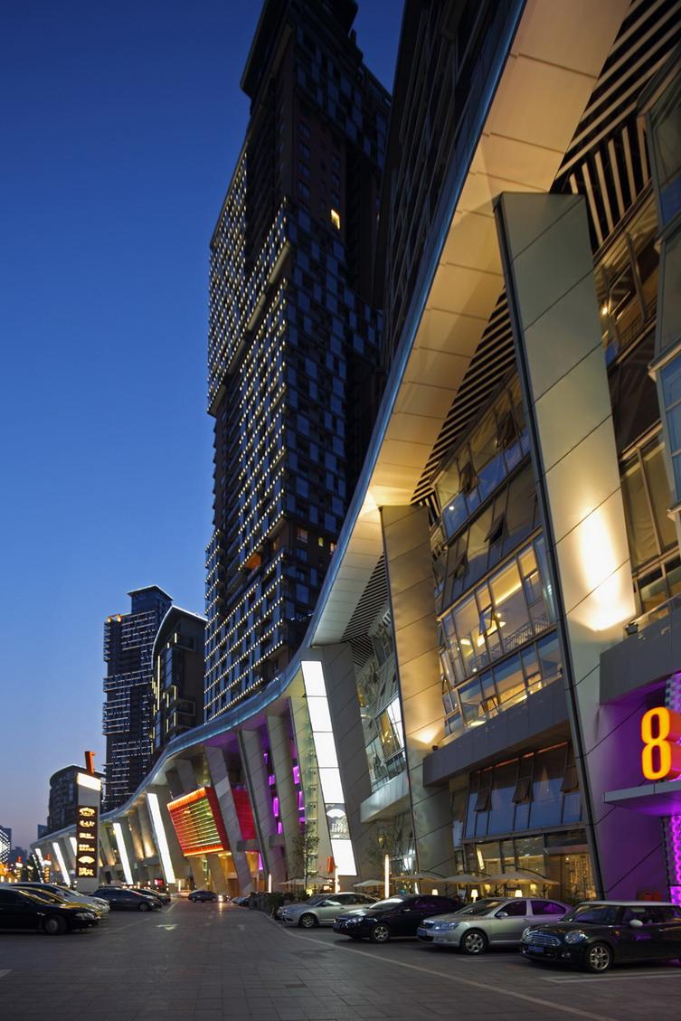 重庆龙湖星悦荟商业街建筑设计