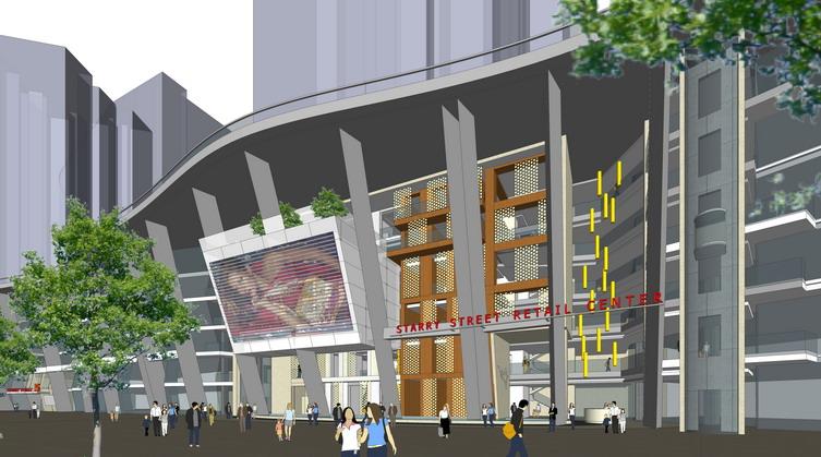 重庆龙湖星悦荟商业街建筑设计案例_重庆龙湖星悦荟街