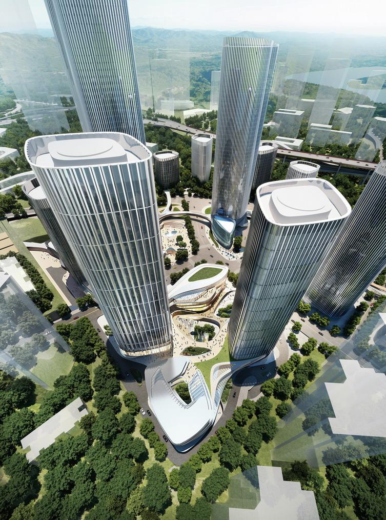 重庆星光时代广场建筑方案设计案例_重庆内心室内设计师独白星光图片