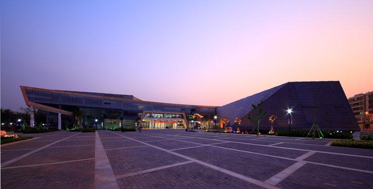 深圳光明新区公明文体中心建筑设计_风景520