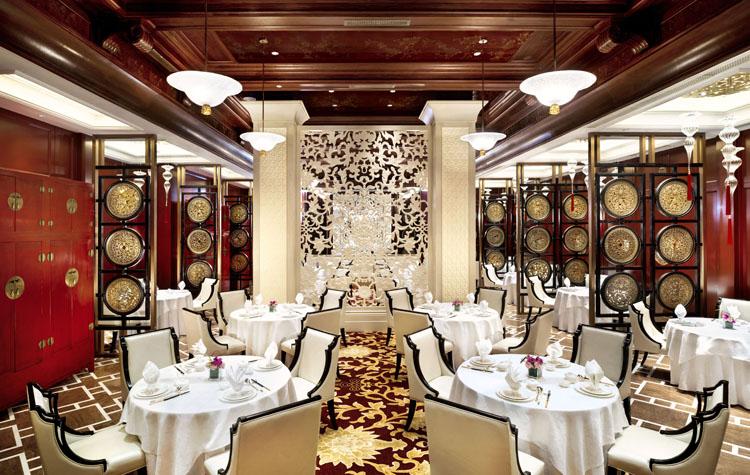 欧式酒店宴会厅手绘线稿