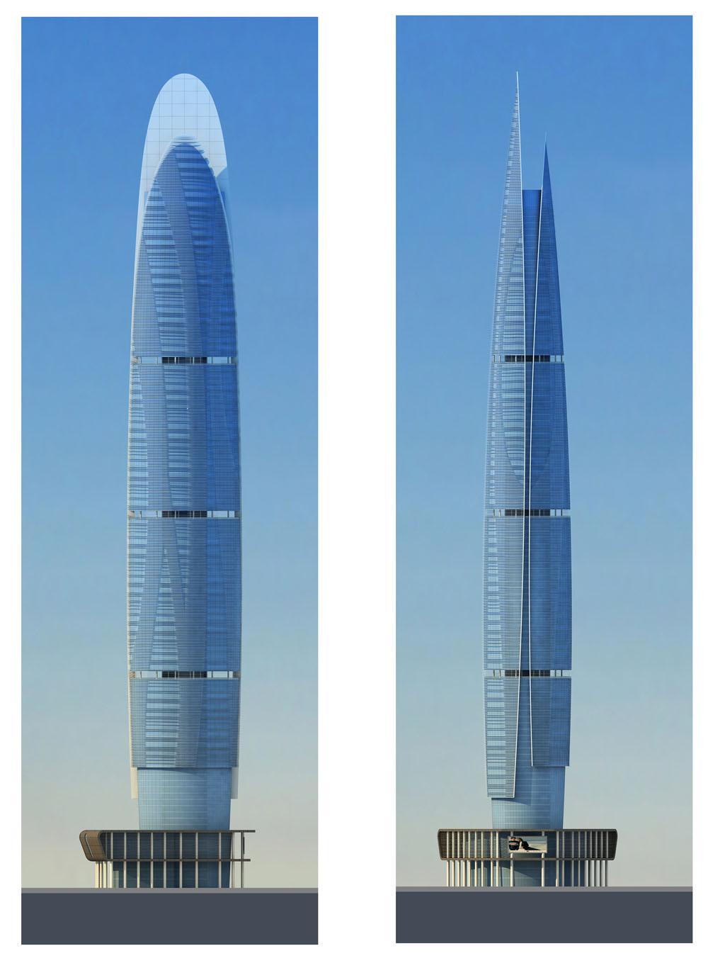 海口102概念性建筑设计方案