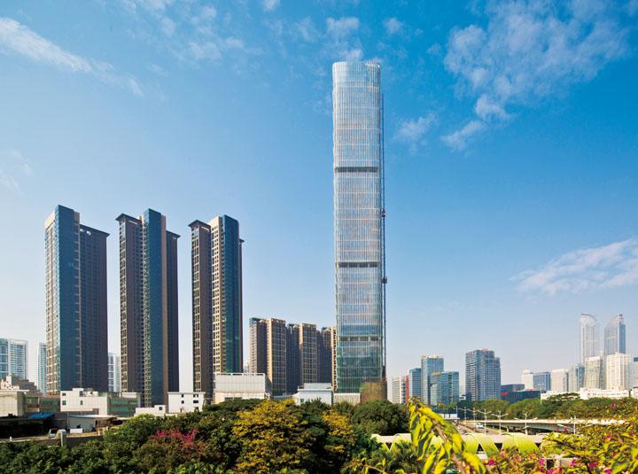 深圳京基滨河时代广场住宅建筑设计