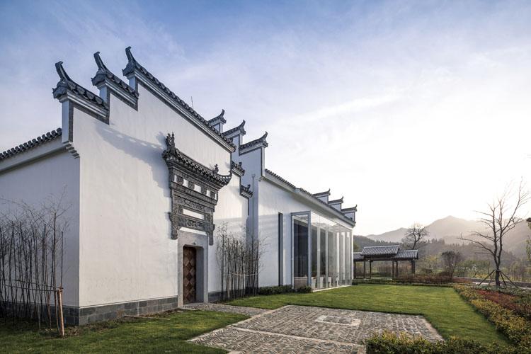 黄山悦榕轩旅游度假别墅区建筑及空间设计