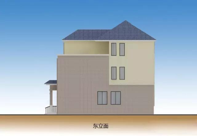 实用农村自建房户型12米×10米