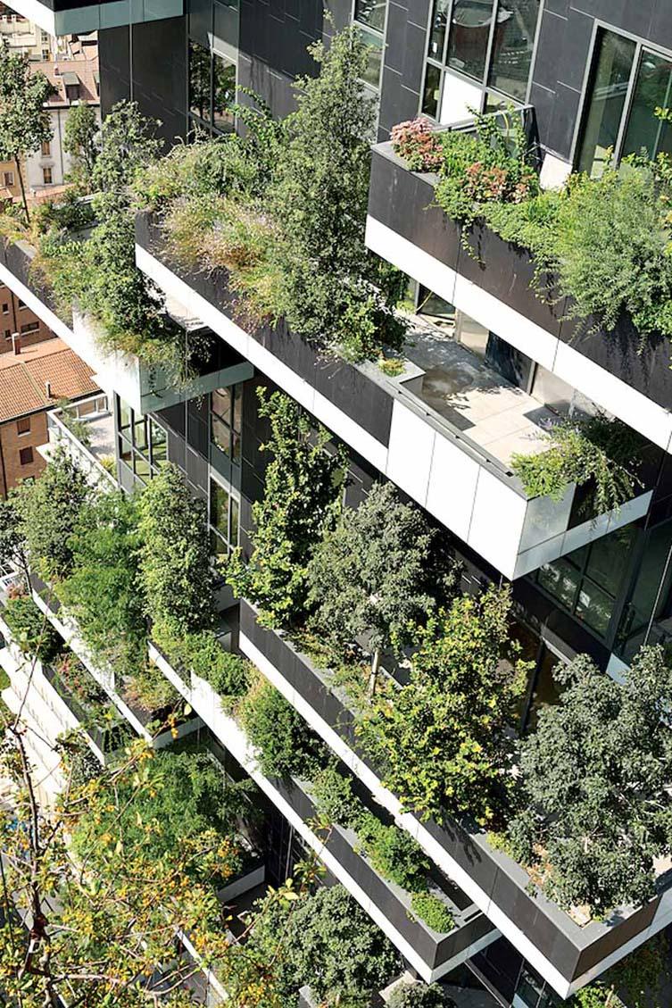 意大利米兰垂直森林