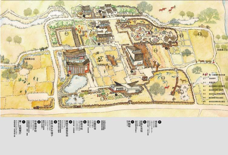 无锡手绘老地图