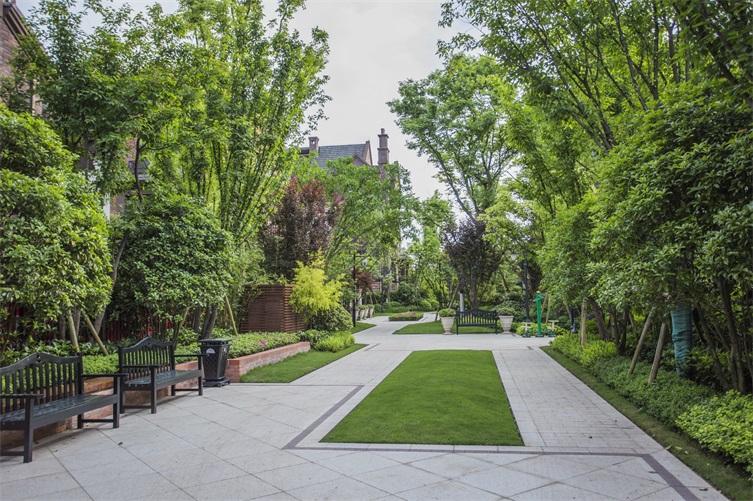 融创欧麓花园城景观设计图片