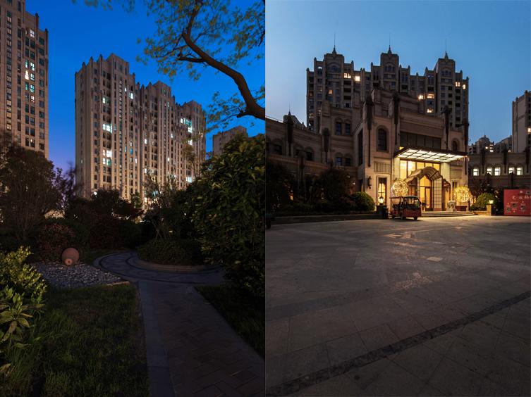 上海三益建筑设计>上海远洋香奈室内景观设计分析图图片
