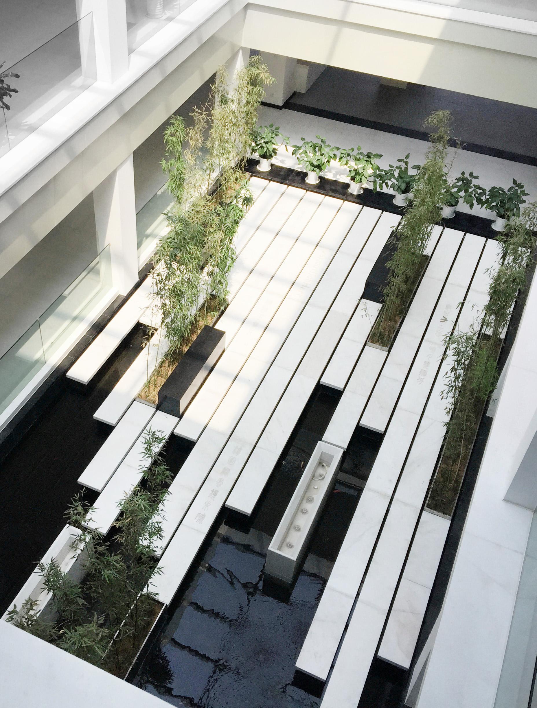 青岛中德生态园中庭景观设计图片